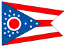 Ohio state flag icon