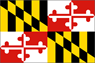 Md. state flag icon