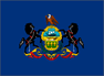 Pa. state flag icon